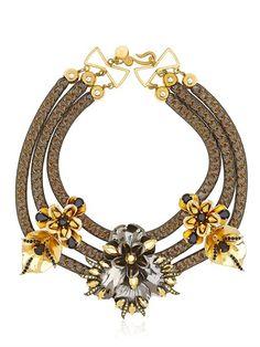 Persy gladiola necklace