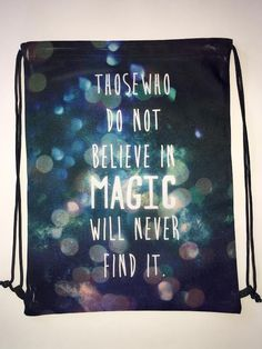 Believe in Magic Electro Threads Bag