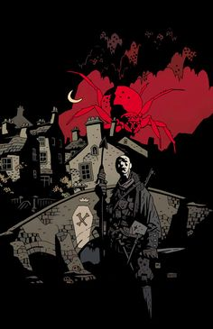 Baltimore: Free Comic Book Day by Mike Mignola (color by Dave Stewart)
