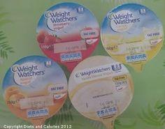 Weight Watchers Individual Yogurts: Strawberry, Vanilla, Lemon, Apricot