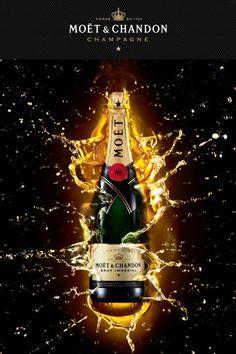 El Champagne más vendido del mundo, lleno de frescura, elegancia y seducción. De color oro amarillo pálido, tiene aromas delicadamente vinosos, con un toque de tilo y de flor de vid. Su sabor está dominado por el Pinot, con gran amplitud en boca y final discreto. Fundada en el 1743 por Claude Moët negociante y comisionista en vinos