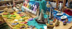 Nautical Themed Shop Display May 2012