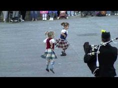 Cute Little Scottish Dancers
