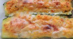 ⇒ Bimby, le nostre Ricette - Bimby, Zucchine Ripiene al Tonno