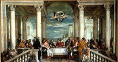 Verones. Cena en casa de Alejandro Magno. Santuario de monte Berio. Vicenza