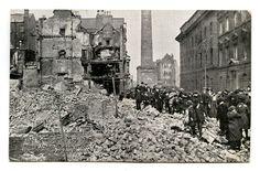 Postcard of Henry Street - Digital Repository of Ireland Ireland 1916, Easter Rising, Dublin, Mount Rushmore, Fire, Digital, Street, Painting, Travel