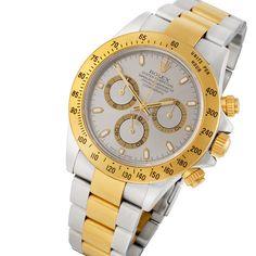 Rolex Daytona 116523 Gold & Stainless Steel Watch #rolex