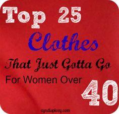 Clothes that gotta go