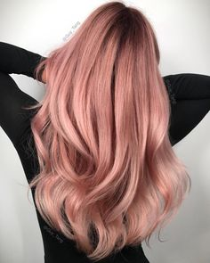 "30.8 k gilla-markeringar, 81 kommentarer - Guy Tang® (@guy_tang) på Instagram: ""HairBesties, @guytang_mydentity #RoseGold is LIFE! I highlighted her hair with #magnum8 with back…"""
