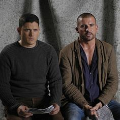 @dominicpurcell . Brothers #prisonbreak #wentworthmiller #dominicpurcell