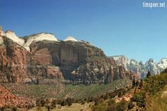 Zion National Park, Utah. Photography by Tim Speer