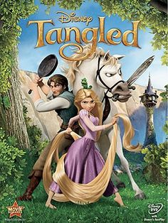 Tangled!! One of the cutest Disney movies ever!