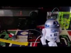 R2D2 Raspberry Pi Hack - YouTube