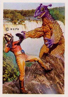 monsters v. spacemen!