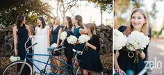 Cute Wedding Ideas with a Bicycle - Zelo Photography - see more at www.zelophotoblog.com/blog