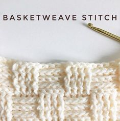 How to Basketweave Stitch for Crochet - Daisy Farm Crafts