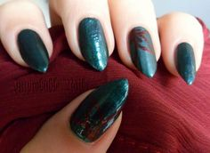 "Improbable Nails: ""Emerald Dream"" nails"