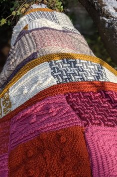A Day Out KAL from Black Sheep Wools, designed by Sarah Hatton. Four original blankets Culcheth, Croft and Winwick. Black Sheep Wool, Simple Colors, Knitted Blankets, Days Out, Crocheting, Knit Crochet, Knitwear, Knitting, Pattern