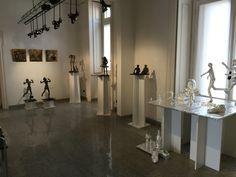 Esposizione 2 sculture e lastre di ottone #Albertini