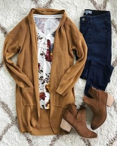 Best Over 50 plus Women's Fashion Ideas - Fashion Trends Fall Fashion Outfits, Mode Outfits, Fall Winter Outfits, Autumn Winter Fashion, Casual Outfits, Womens Fashion, Fall Fashion Colors, Rustic Outfits, Casual Winter