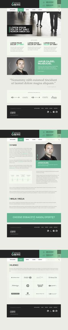 Consulting & More http://www.consultingandmore.pl  Design by themilo.com