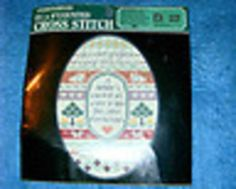 Cross Stitch Kit Sampler No 5508 Designs For The Needle Labor of Love from Heart