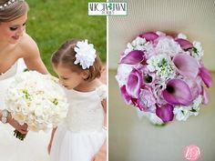 Spring Wedding Flowers : ideas for bouquets and floral arrangements