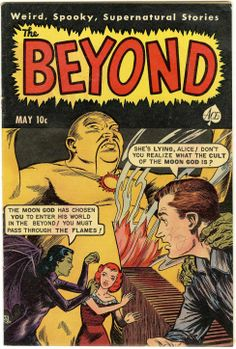 Comic Book Cover For The Beyond #11