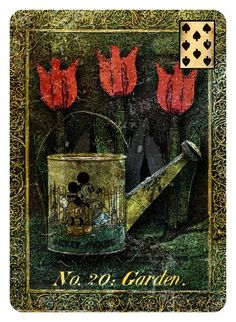 THE MYSTERY DECKS: Strangely Interesting Lenormand and Oracle Decks... from Duck Soup Productions: A Twining Card, A Twisted Card