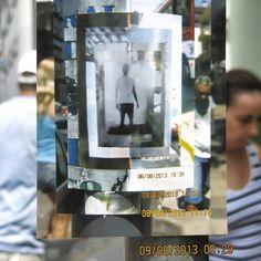 Elias Maroso. Labirinto (detalhe). Videoinstalação e Intervenção Urbana. Ano de 2013.