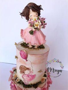 For little girl... - cake by Branka Vukcevic