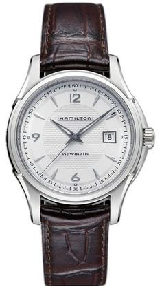 @hamiltonwfan Jazzmaster Viewmatic #bezel-fixed #bracelet-strap-alligator #brand-hamilton #case-material-steel #case-width-40mm #date-yes #delivery-timescale-7-10-days #dial-colour-silver #gender-mens #luxury #movement-automatic #official-stockist-for-hamilton-watches #packaging-hamilton-watch-packaging #subcat-jazzmaster #supplier-model-no-h32515555 #warranty-hamilton-official-2-year-guarantee #water-resistant-50m