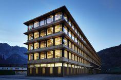 Architekten Hermann Kaufmann ZT GmbH - Projekte - IZM - Illwerke Zentrum Montafon Vandans