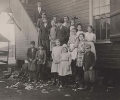 """Lewis Hine  """"The Morning Attendance at the Mill School  Huntsville, Alabama""""      Read more about Lewis Hine Photography by www.leegallery.com"""