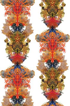 Grand Blotch Damask (Original) Solid Wallcovering by Timorous Beasties Wallcoverings