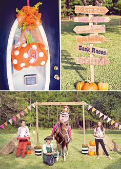 Fall County Fair Birthday