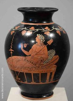 Reproduction of a Greek ceramic