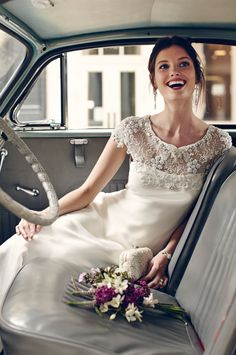 A backyard wedding for me means something relaxed and maybe laid-back, so backyard wedding gowns should be chic and relaxed. Many backyard brides choose boho chic style. Bhldn Wedding Dress, 2015 Wedding Dresses, Wedding Pics, Wedding Bride, Bridal Gowns, Wedding Styles, Wedding Gowns, Dream Wedding, Wedding Car