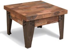Brooklyn Industrial Square Coffee Table from Alexander and Pearl