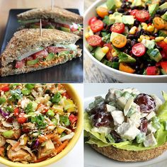 These 32 healthy lunch ideas are perfect for the office, we don't know which to try first! #NourishingBites