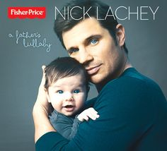 Nick Lachey Poses on Album Cover With Adorable Son Camden, Father-Son Duo Show Off Matching Blue Eyes - OMG how cute is that baby!