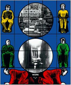 Work Gilbert & George, Contemporary Art, World, Movie Posters, Film Poster, The World, Billboard, Film Posters, Modern Art