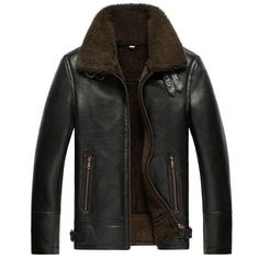 Jackets For Stylish Men. Jackets are a crucial part of every single man's set of clothes. Men need to have jackets for a number of moments as well as some varying weather conditions. Ww2 Bomber Jacket, Bomber Jackets, Sheepskin Jacket, Winter Mode, Shearling Jacket, Leather Men, Leather Jackets, Napa Leather, Sheep Leather