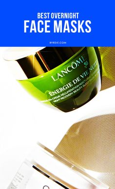 Add an overnight mask to your skincare regimen to wake up with glowing skin.