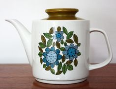 J & G Meakin 'Topic' Teapot