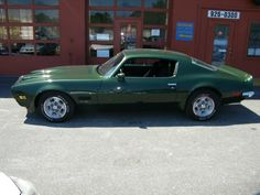 1971 Pontiac Firebird - my sister owned one and I drove it a couple times.