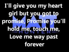 Matt Hunter - Promise Lyrics