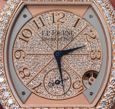 "Esteemed Mechanical Watchmaker F.P. Journe​ On Making A Quartz Movement - by David Bredan - see more about our in-depth discussion with F.P., the watches themselves, and learn about the movement's design on aBlogtoWatch.com ""...we sat down with Francois-Paul Journe for what turned out to be an hour-long conversation about the finer details of the F.P. Journe Élégante and the movement inside of it. There were many different questions that we had prepared prior to the conversation..."""