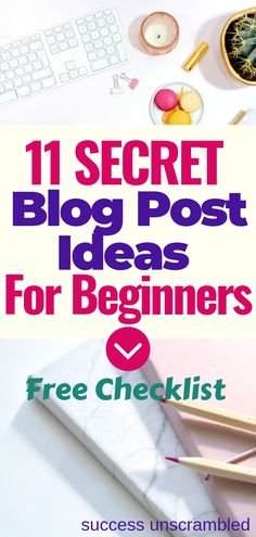 Yippee! Just what you need if you are a beginner blogger and you are looking for ideas to write your first awesome batch of blog posts to get blog traffic. Remember to grab the free checklist. #blogpostideas #bloggingtips #bloggingforbeginners #startablog