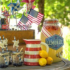 Get inspired by this DIY Vintage Fourth of July Party that featured handmade decorations and printables.